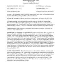 Wilson Family Letters Finding Aid.pdf